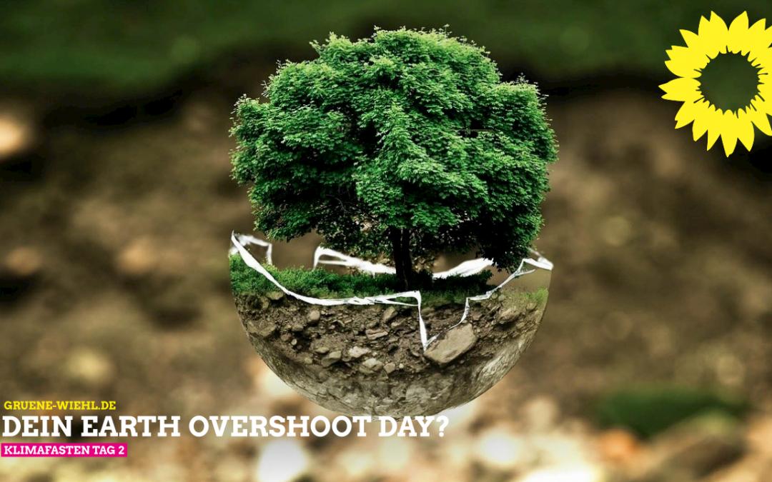 Klimafasten Tipp des Tages 2 – Der ökologische Fußabdruck