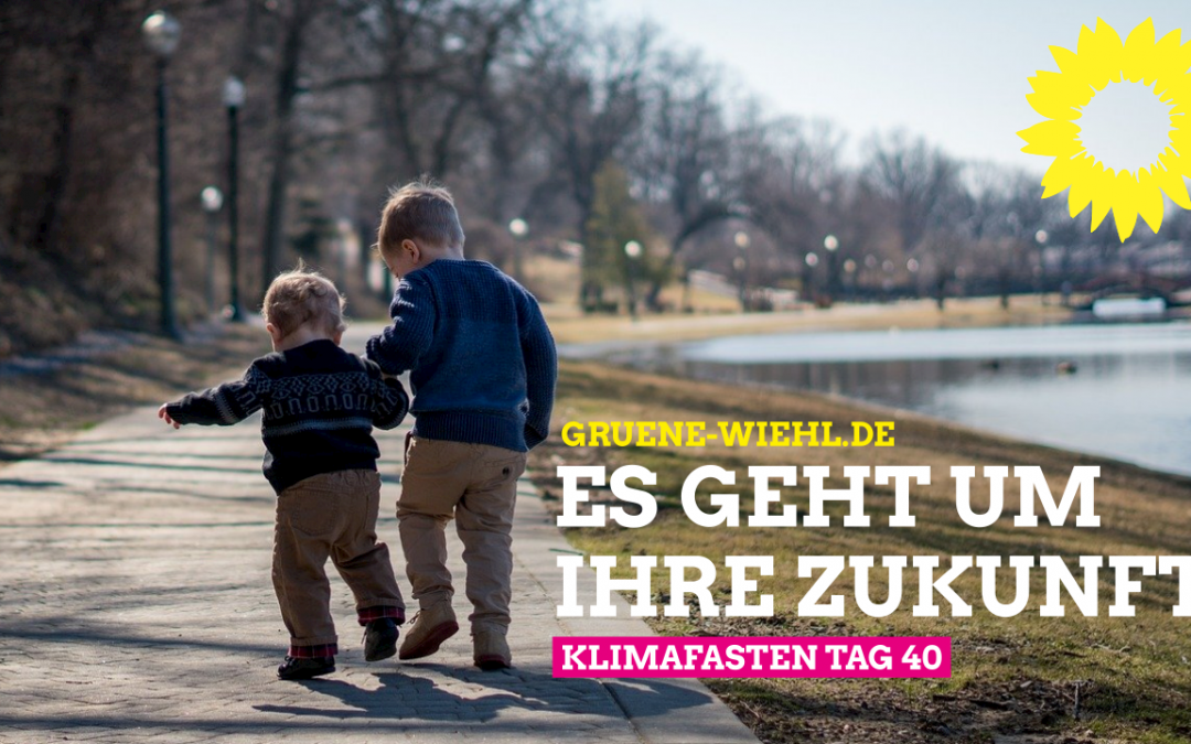 Klimafasten Tag 40 – Kinder für den Klimaschutz sensibilisieren