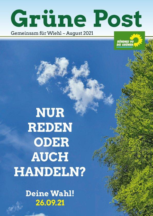 Grüne Post Klimafasten